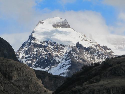 El Chaltén: vue sur le sommet du Cerro Torre