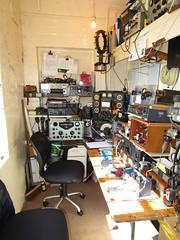 Radio Ham Shack At YAM