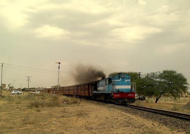 MG PGR SPL from Churu to Jaipur