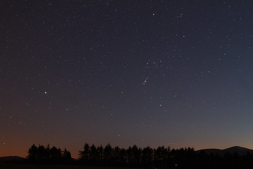 The Night Sky From Ballinderry