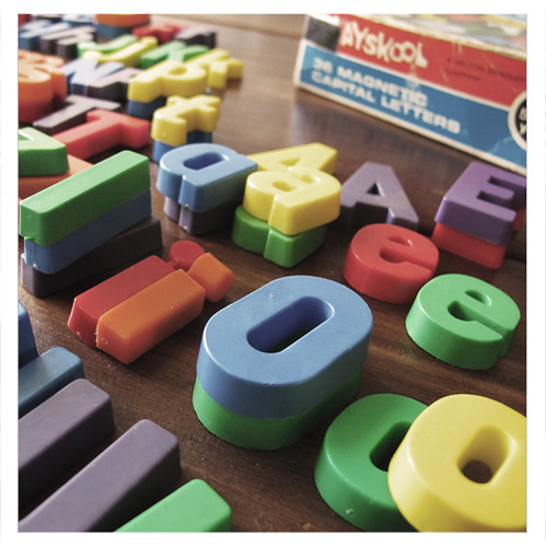 Playskool Magnetic Letters