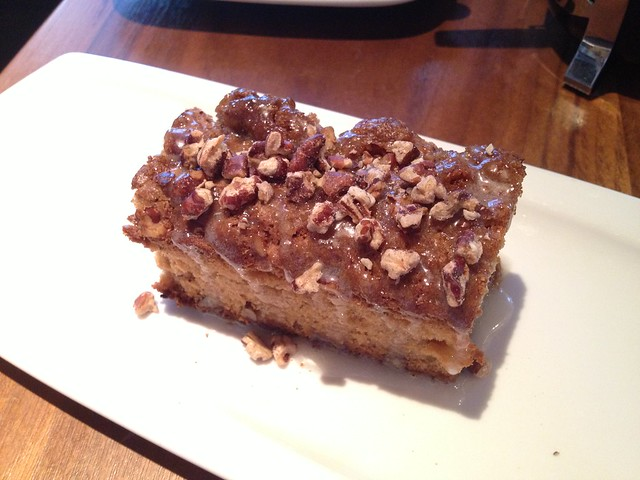 Coffee cake - Chambers Eat + Drink