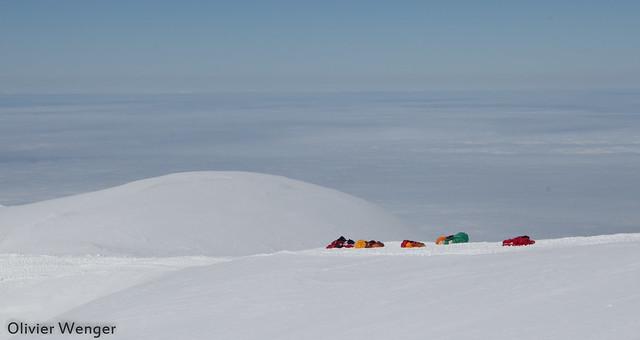 Décollage Jungfraujoch