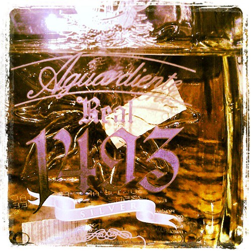 For those who know me....#aguardiente #real #1493 # silver #colombia