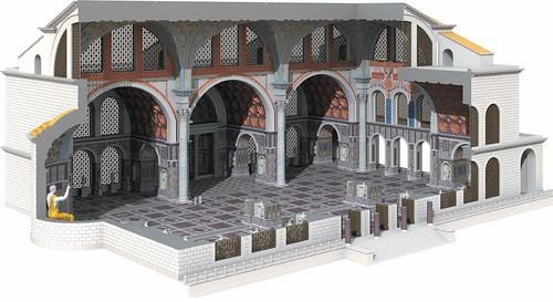 ROMA ARCHEOLOGIA: Costantino al Colosseo mostra archeologica di tesori e scoperte, LA REPUBBLICA & IL MESSAGGERO (09/04/2013). Foto: La basilica di Massenzio o, più propriamente, di Costantino, (John Burge [2010]).