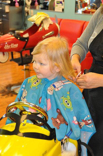 Hadley's First Hair Cut