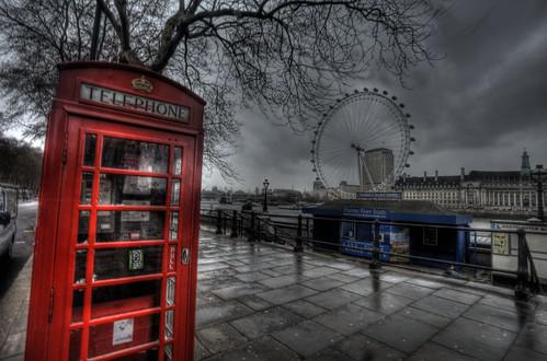 London Eye (HDR) (Explored)