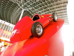 race car, model car, automobile, maserati 250f, vehicle, red, automotive design, open-wheel car, land vehicle, luxury vehicle, sports car,