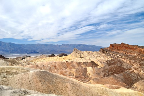 Zabriskie Point, Death Valley National Park, Calif., April 2013