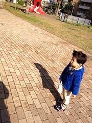 タコ公園にて 2013/4/11