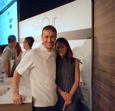 jason atherton - Savour 2013, Singapore