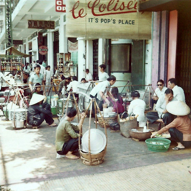 Downtown Saigon 1972