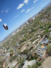 Kite Camera at Tiguex Park Albuquerque NM