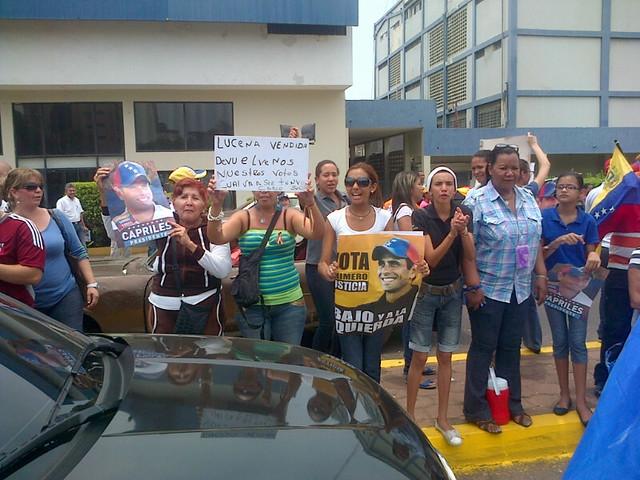 Manifestación en 5 de julio
