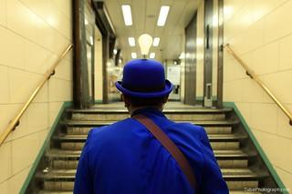 London underground, Monday 02:03