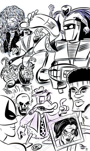 Marvel 1970's montage