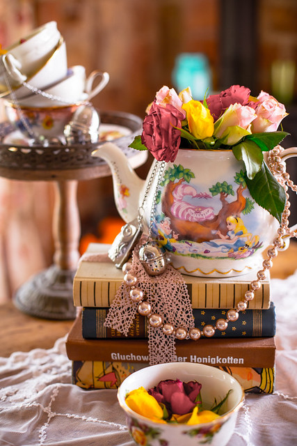 Afternoon tea table decoration flickr photo sharing for Afternoon tea decoration ideas