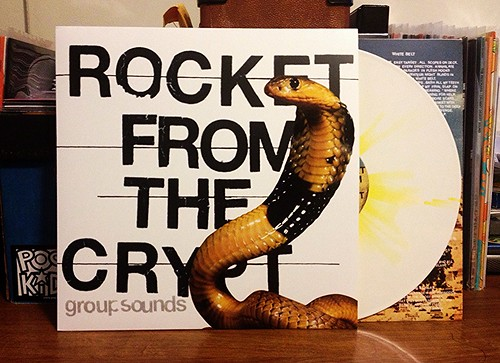 Record Store Day Haul #1: Rocket From The Crypt - Group Sounds LP - White w/ Yellow Splatter Vinyl (/500) by Tim PopKid