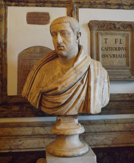 Male Portrait in the Capitoline Museum, July 2012