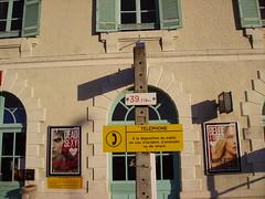 Gare de Mussidan-façade côté voies