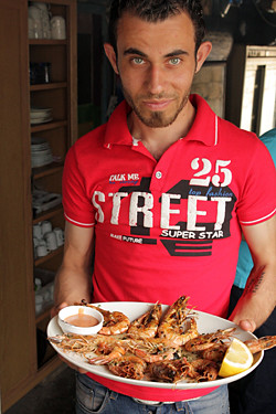 Lebanese waiter