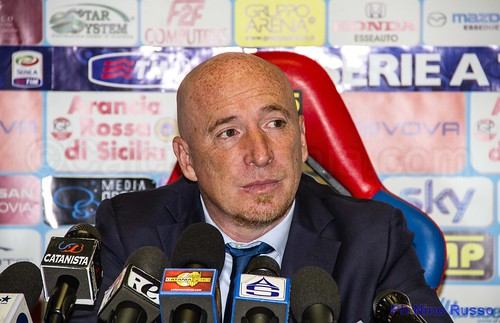 """Catania,Maran:""""Con il Toro per l'ottavo posto. Grandi meriti al mio staff"""""""