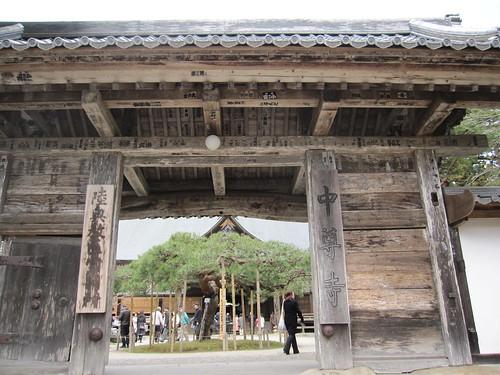 中尊寺の門・・・2013.4.20 by Poran111