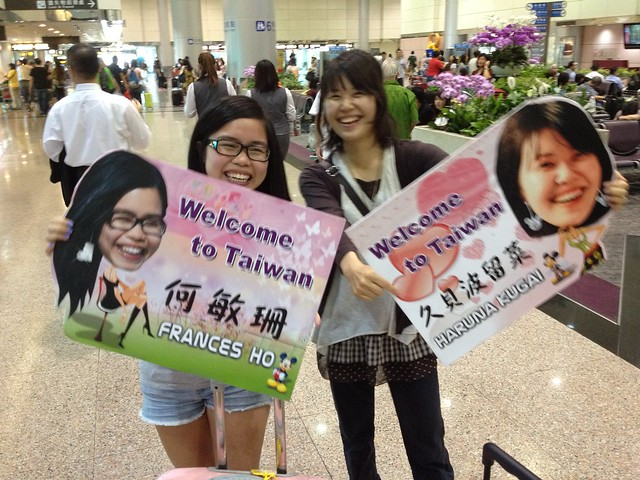 Haruna & Frances in Taiwan!