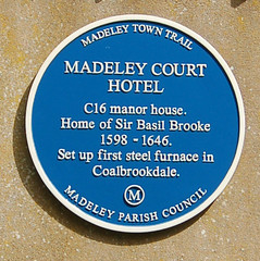 Photo of Basil Brooke blue plaque