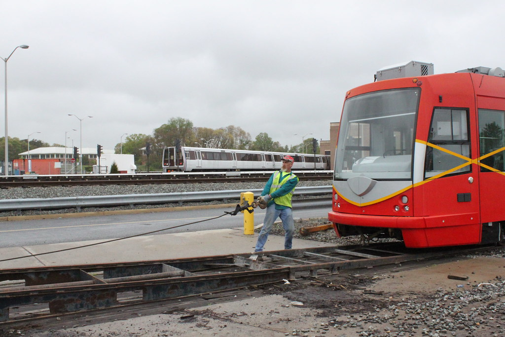 Vehicle Movement--Greenbelt Metro to Anacostia Testing and Commissioning Site