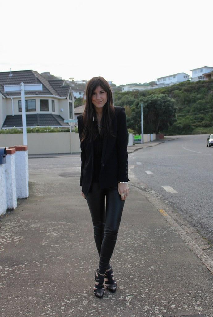 leather legging wardrobe essentials winter