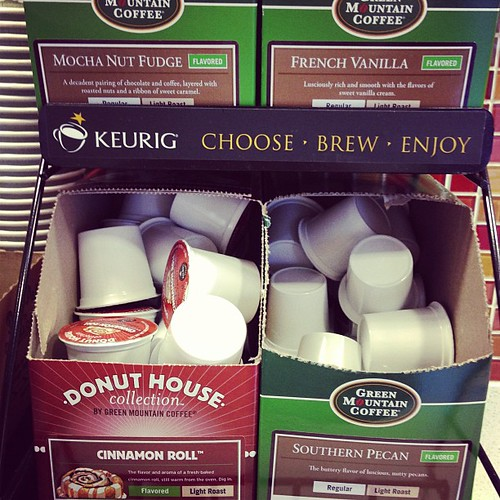 Cinnamon roll, mocha nut fudge, southern pecan... where's the real coffee?!