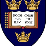 University of Oxford Heraldic Coat of Arms on a shield