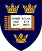 University of Oxford Heraldic Coat of Arms on a shield by The Happy Rower