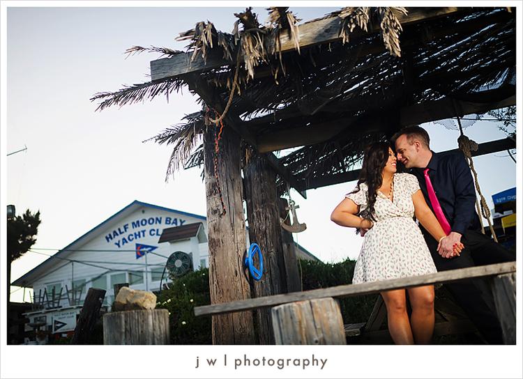 Kim + Steve   Half Moon Bay   Engagement   j w l photography   blog