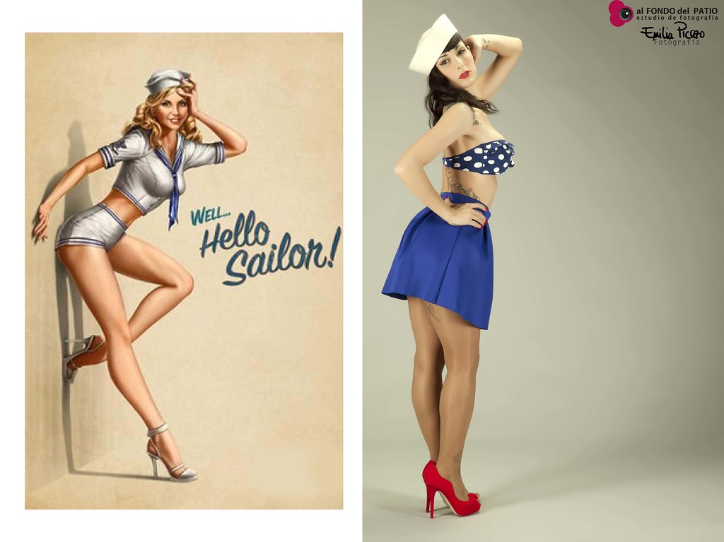 Pin-up: Sailor