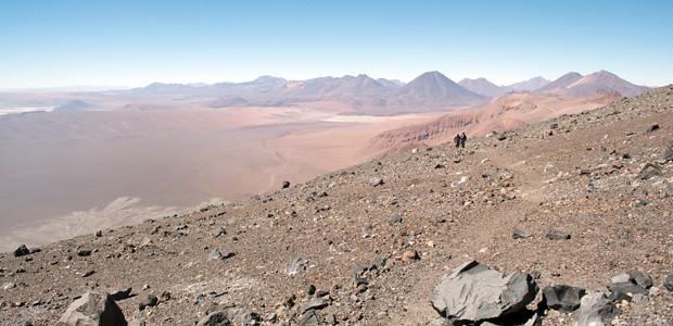 Atacama - Vlcão Lascar