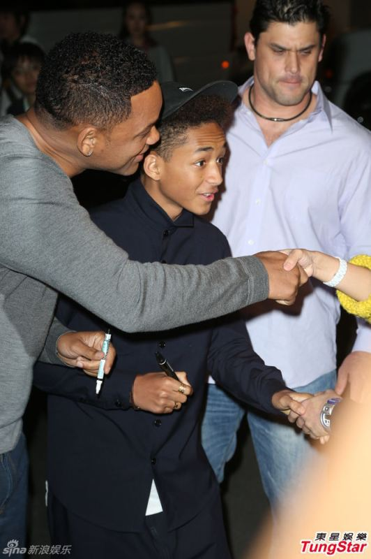 Will Smith Jaden Smith