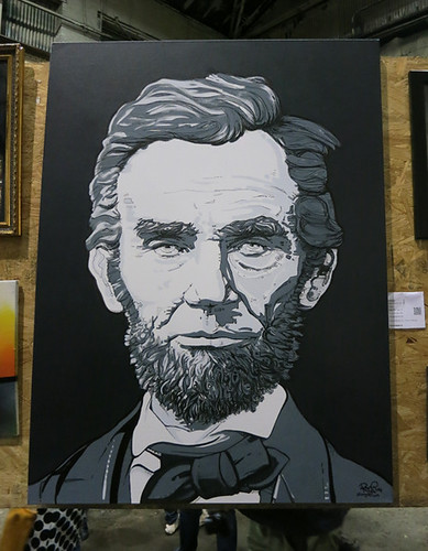AAN2013 Lincoln by Rob Stinogle Acrylic