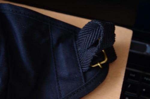 引っ掛け部分 [ハンプコウボウ] 帆布工房 ミリタリーライン ボディ