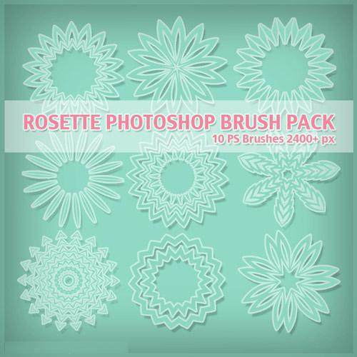 rosette-brushes