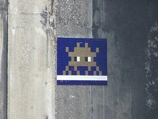 Space Invader PA_1???, Paris 13eme