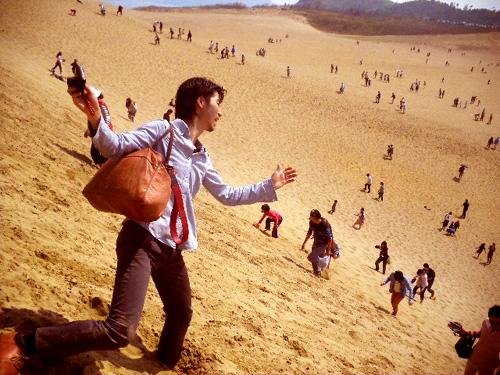 鳥取砂丘_Tottori sand dunes