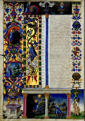 005-Bibbia di Borso d'Este-Vol 1- Hoja 12- Biblioteca Estense de Módena