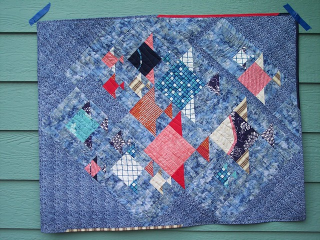 One Fish, Two Fish - Project Quilting final bonus