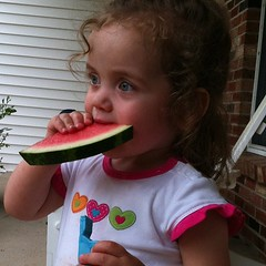 Watermelon and a whistle