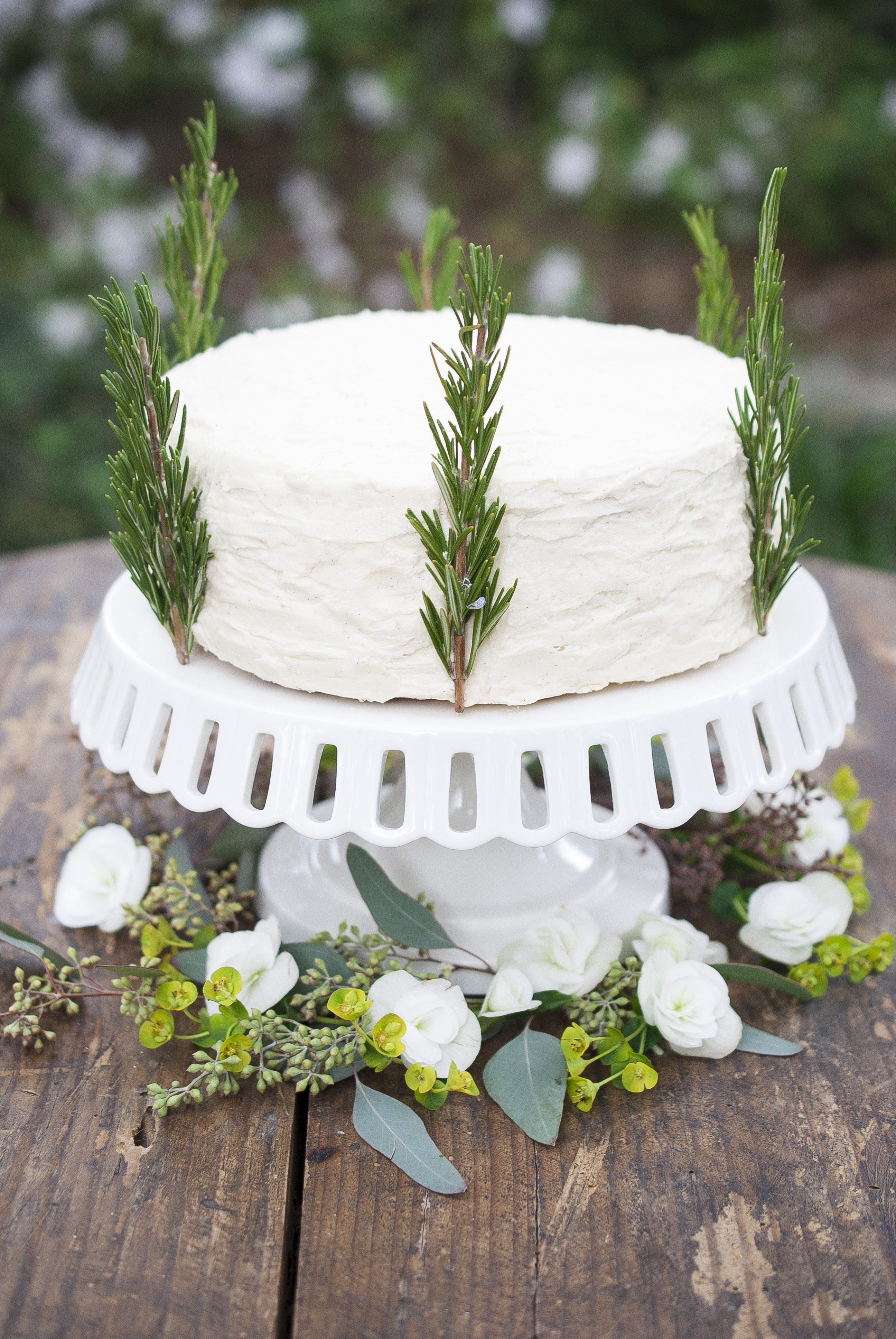 Simple Craves & Olive Oil: rosemary orange blossom cake with vanilla ...