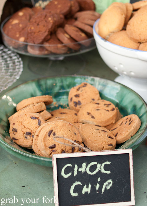 chocolate chip cookies at the grounds of alexandria markets
