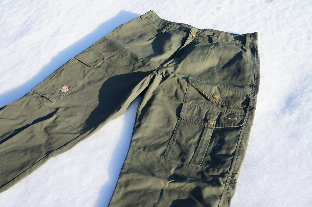 Fjällräven Greenland trousers