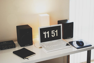 My new workspace